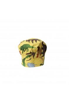 Šéfkuchárska čiapka - dinosaurus