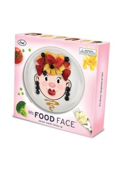 Detský tanier MISS FRED Food Face