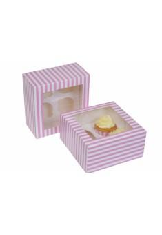 Krabička na 4 muffiny - 2ks/bal