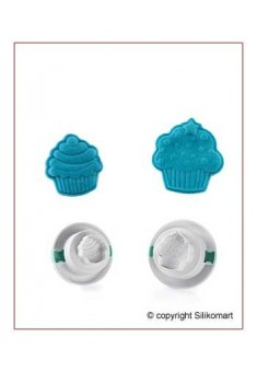 Vypichovač 3D - Cupcakes 2 ks