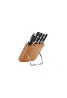 Zwilling Pro blok s nožmi II - 6 ks , buk