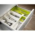 Nastaviteľná priehradka na príbor DrawerStore™ Cutlery Tray