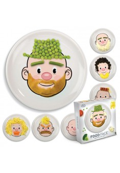 Detský tanier FRED Food Face